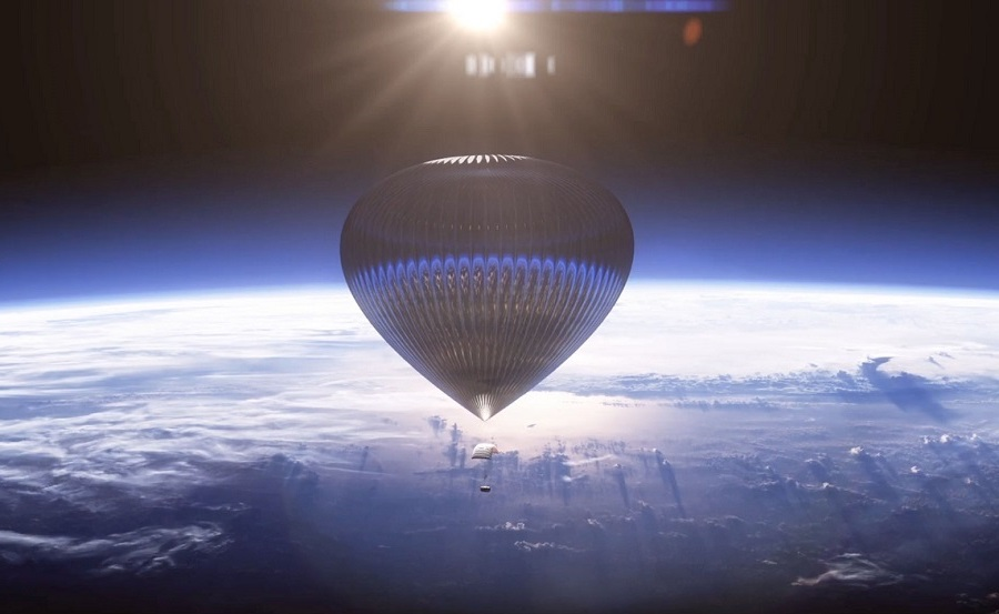 A trip to space on a balloon | Future Tech: 9 New Inventions That Are About To Change The World | Zestradar