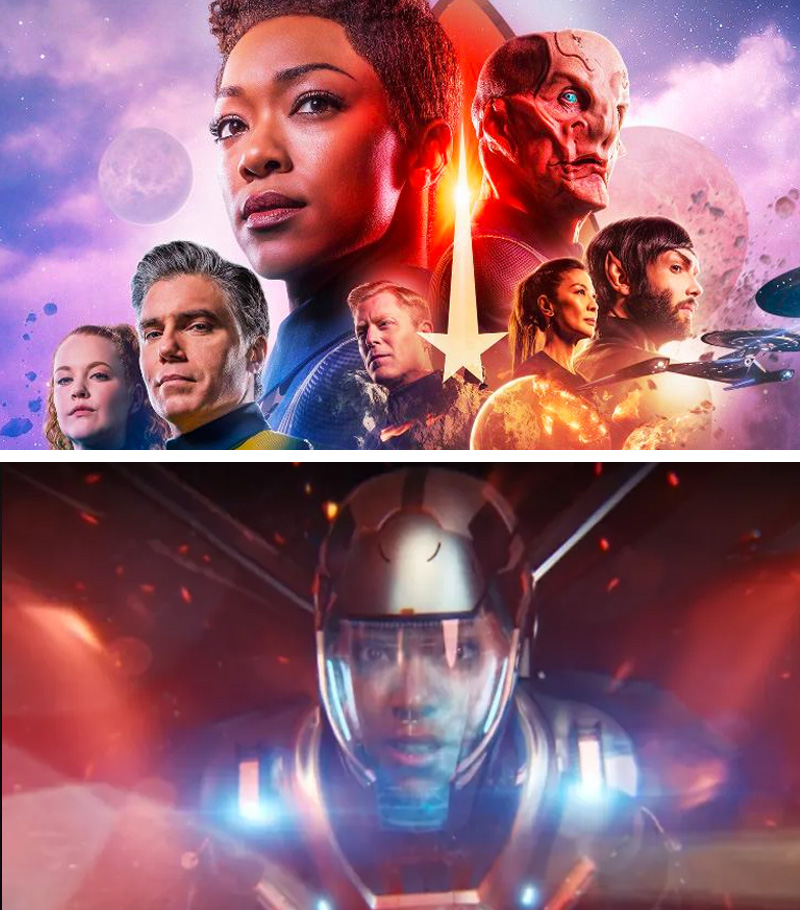 Star Trek: Discovery | 10 Visually Stunning Sci-Fi TV Shows You Need To Watch In 2020 | Zestradar