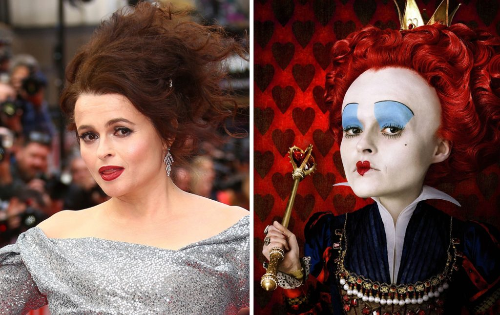 The Red Queen (Alice in Wonderland) | 10 Frightening Movie Villains Who Look Gorgeous In Real Life | Zestradar