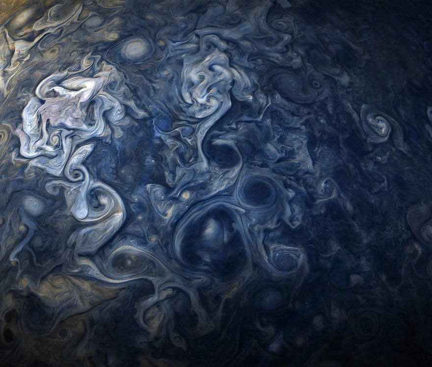 Овие нови фотографии од Јупитер се апсолутно надреални # 3 | Мозок бобинки