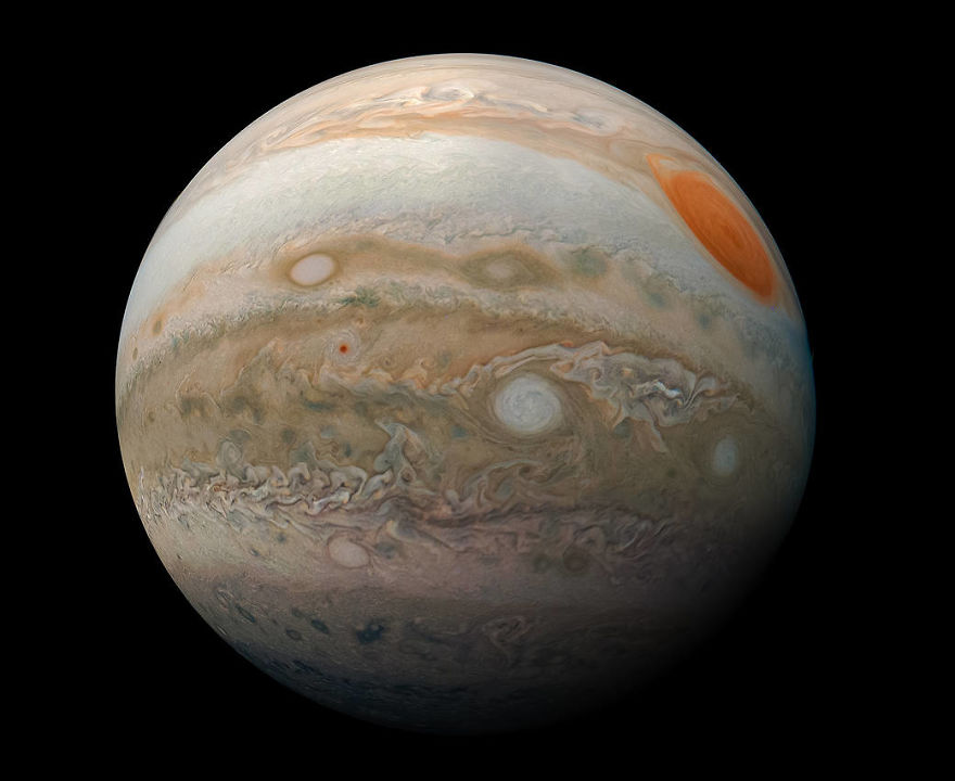 These New Photos of Jupiter Are Absolutely Surreal #5   Brain Berries
