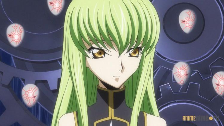 С.С., «Код Гиас: Восставший Лелуш»   8 самых ярких и наиболее популярных аниме героинь   Zestradar