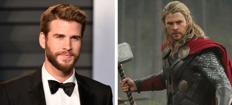 Liam Hemsworth – Thor | 10 Famous Movie Roles Almost Played By Other Actors | Zestradar
