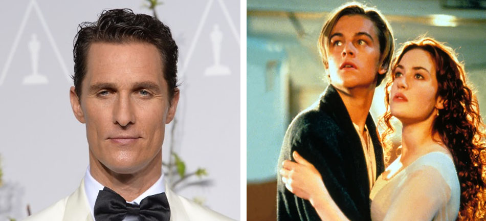 Matthew McConaughey - Jack | 10 Famous Movie Roles Almost Played By Other Actors | Zestradar