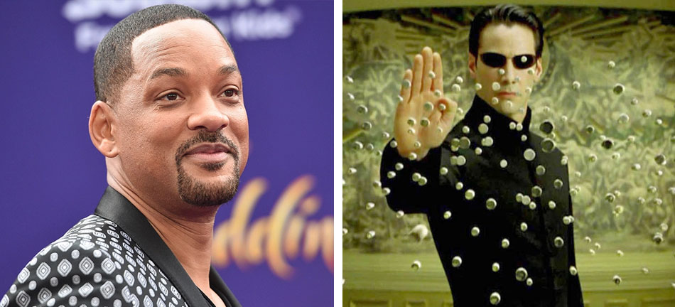 Will Smith – Neo | 10 Famous Movie Roles Almost Played By Other Actors | Zestradar