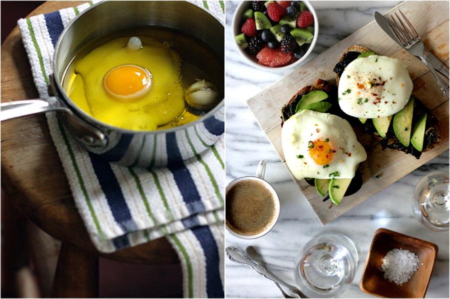 Oil Poached Eggs On Avo Toast | 10 Best Quick, Easy Breakfast & Dinner Ideas | Zestradar