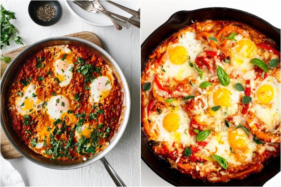 Portuguese Baked Eggs | 10 Best Quick, Easy Breakfast & Dinner Ideas | Zestradar