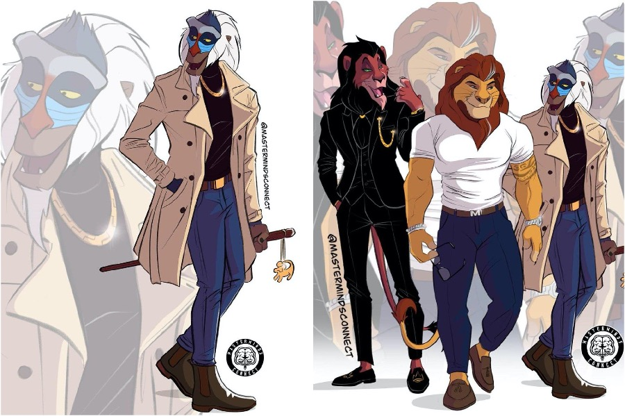 Humanlike Lion King Characters Will Make You Reconsider Furries | Zestradar