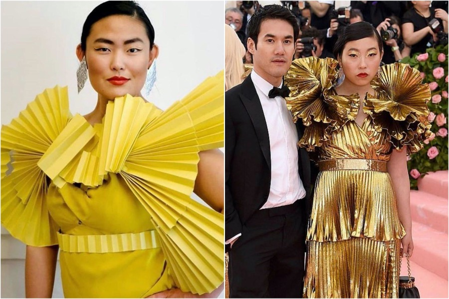 Awkwafina's Dress | People Who Slayed The Met Gala Challenge | Zestradar