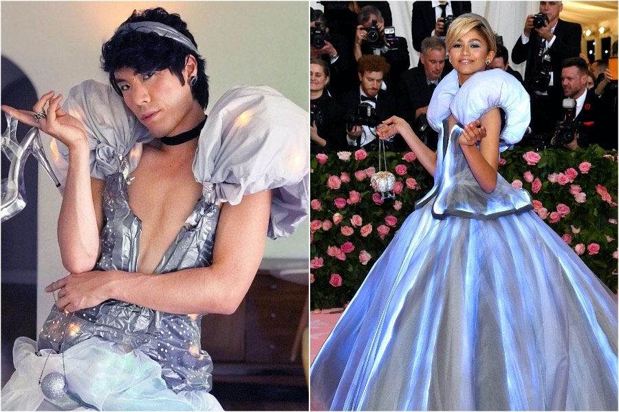 Eugene Lee Yang as Zendaya | People Who Slayed The Met Gala Challenge | Zestradar