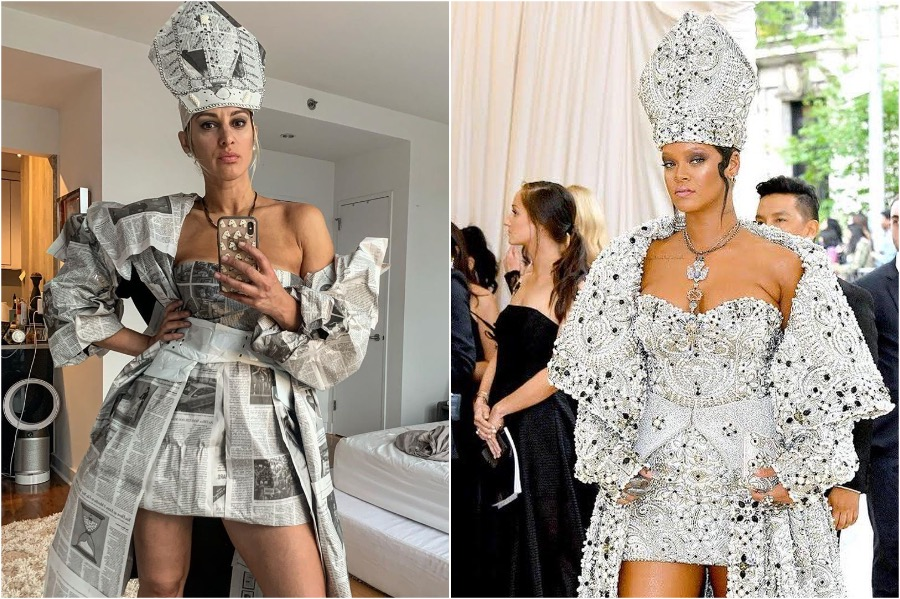 Rihanna's Look | People Who Slayed The Met Gala Challenge | Zestradar