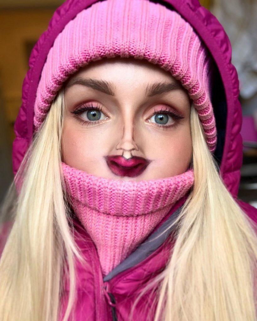 #2 | Челлендж Макияж «Крошечное Лицо» набирает обороты | Zestradar