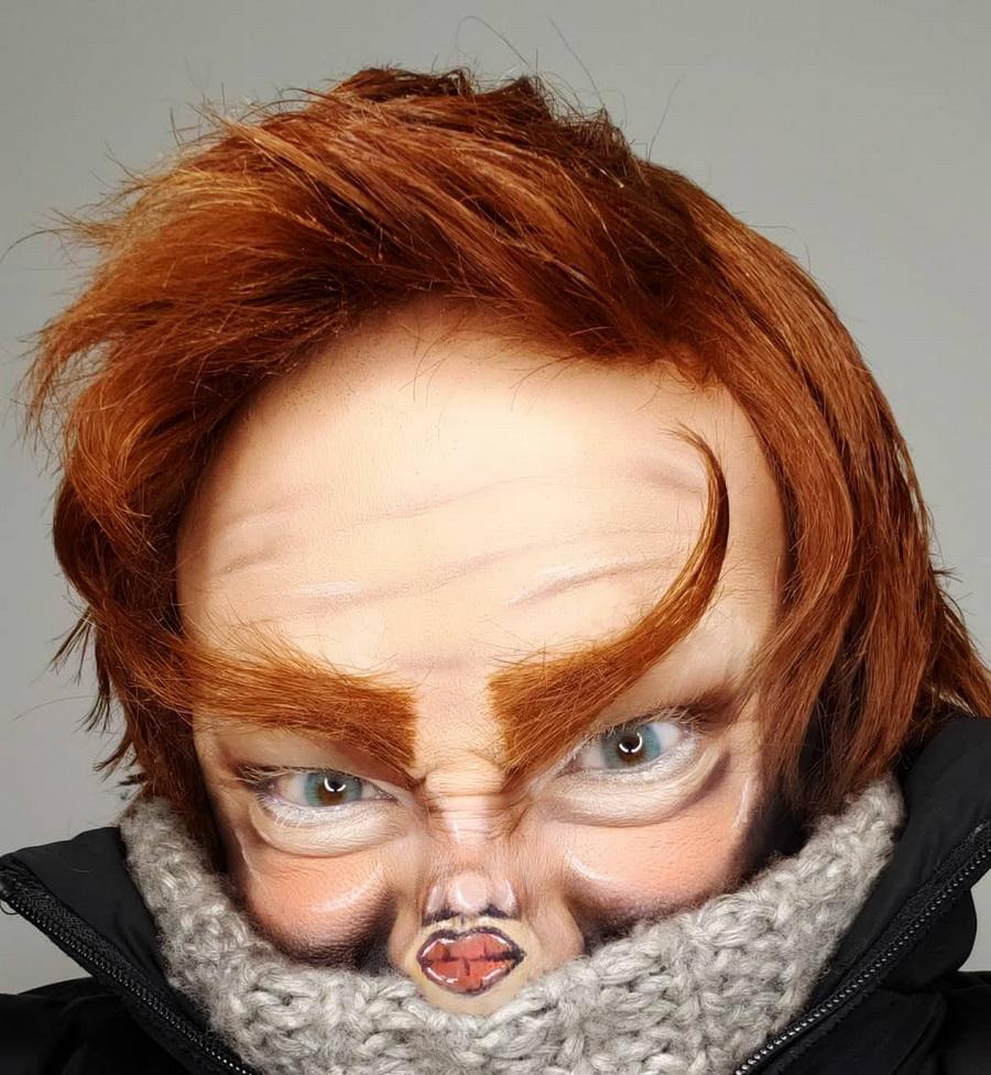 #10 | Челлендж Макияж «Крошечное Лицо» набирает обороты | Zestradar