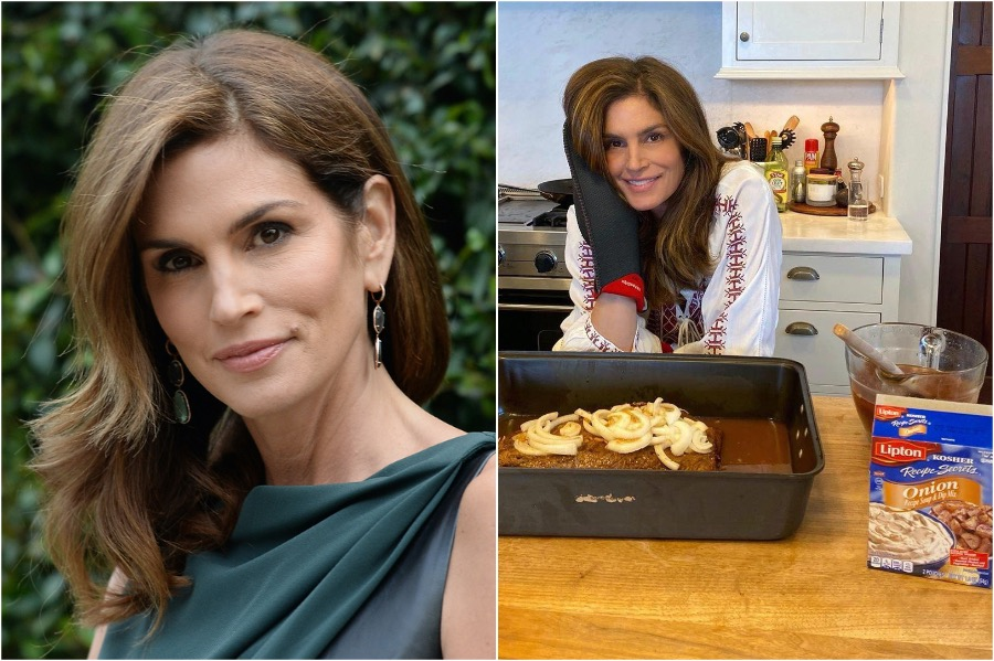Cindy Crawford | What Are Hollywood Celebs Cooking On Quarantine | Zestradar