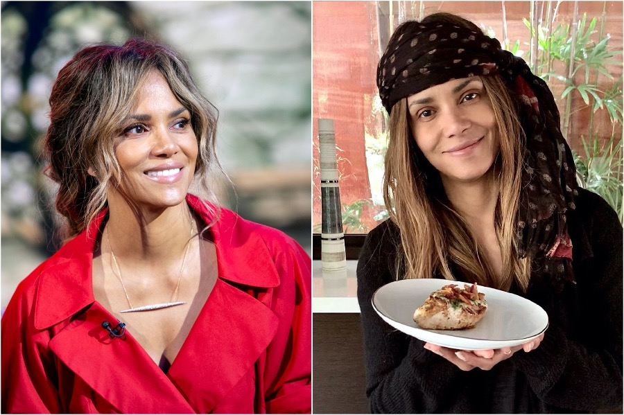 Halle Berry | What Are Hollywood Celebs Cooking On Quarantine | Zestradar
