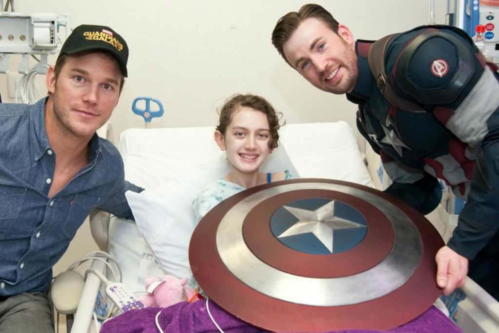 Chris Evans | 8 Movie Superheroes Who Are Also Heroes In Real Life | Zestradar