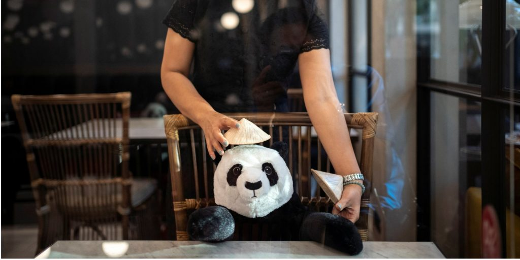 #12 | Restaurant in Thailand Brings Pandas to the Table to Promote Social Distancing | Zestradar