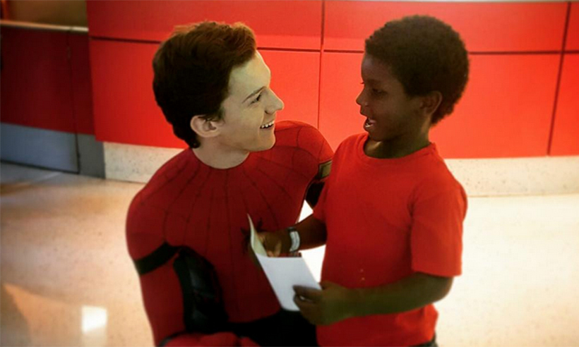 Tom Holland | 8 Movie Superheroes Who Are Also Heroes In Real Life | Zestradar