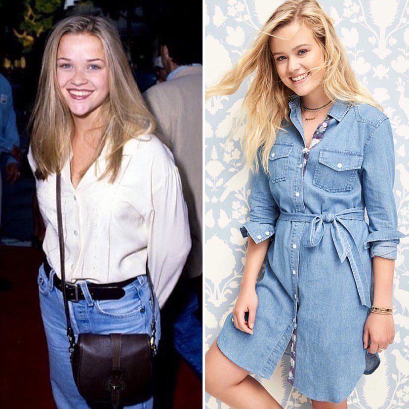 Reese Witherspoon and Ava Phillippe | 9 Celebrity Daughters Who Look Just Like Their Moms | Zestradar