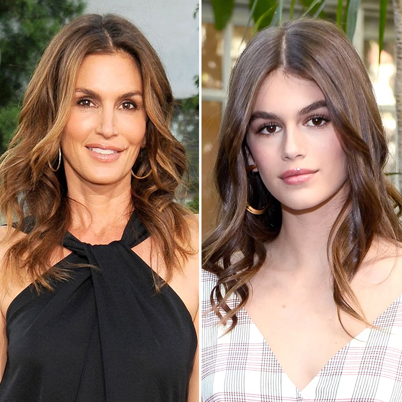 Cindy Crawford and Kaia Gerber | 9 Celebrity Daughters Who Look Just Like Their Moms | advacar.com