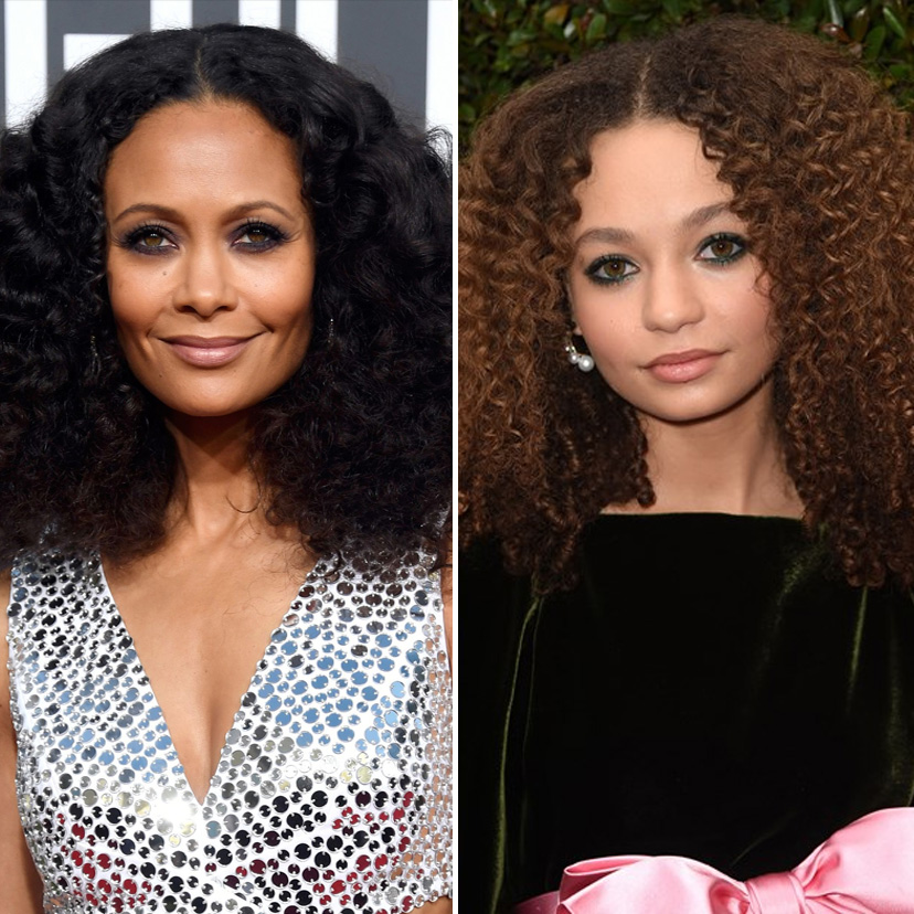 Thandie Newton and Nico Parker | 9 Celebrity Daughters Who Look Just Like Their Moms | advacar.com