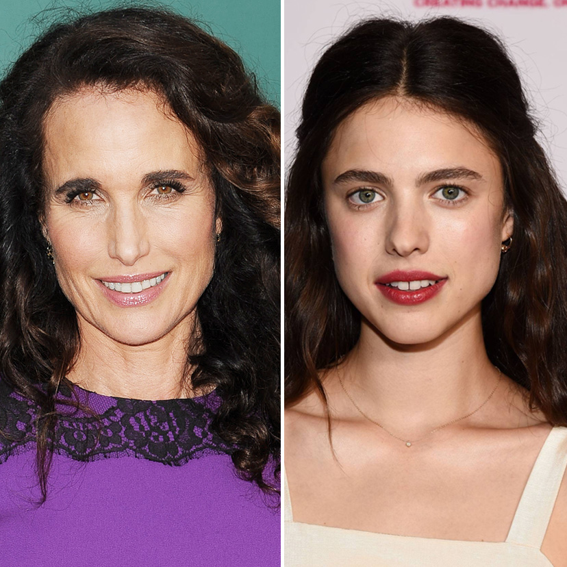 Andie MacDowell and Margaret Qualley | 9 Celebrity Daughters Who Look Just Like Their Moms | Zestradar