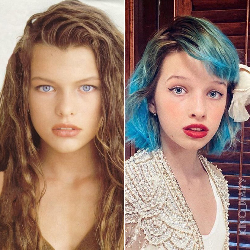 Milla Jovovich and Ever Gabo Anderson | 9 Celebrity Daughters Who Look Just Like Their Moms | advacar.com