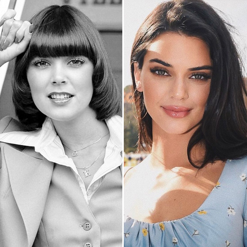 Kris Jenner and Kendall Jenner | 9 Celebrity Daughters Who Look Just Like Their Moms | advacar.com