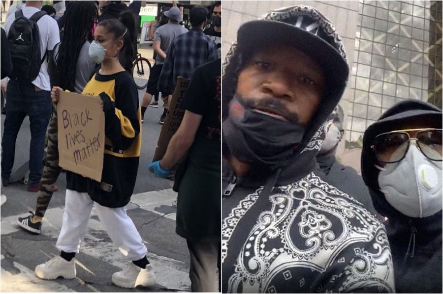 Celebrities Join The George Floyd Protest | Brain Berries