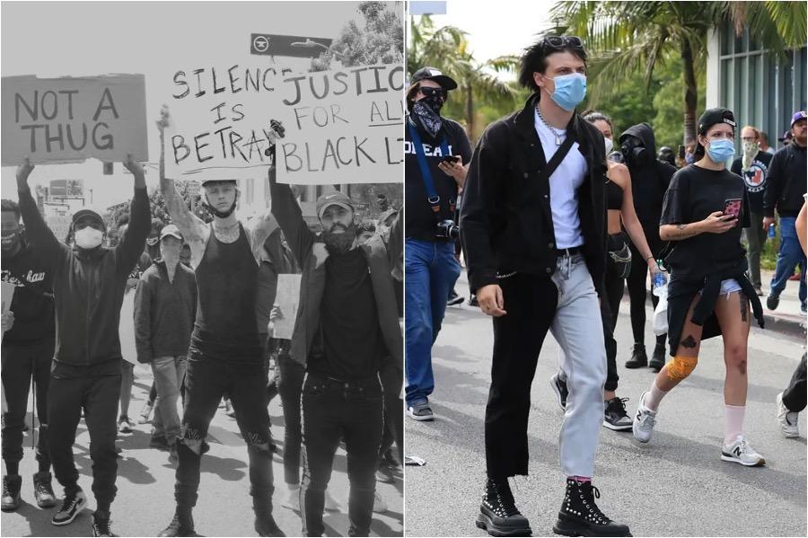 Celebrities Join The George Floyd Protest #3 | Brain Berries