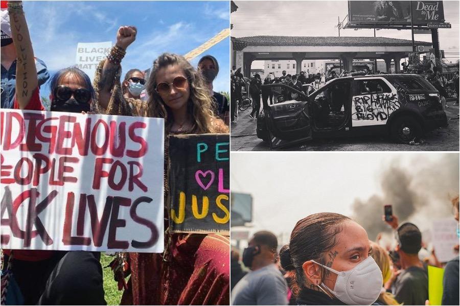 Celebrities Join The George Floyd Protest #6 | Brain Berries