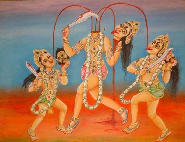 Чиннамаста (Индия) | 6 cамых жестоких богинь Древнего Мира | Zestradar
