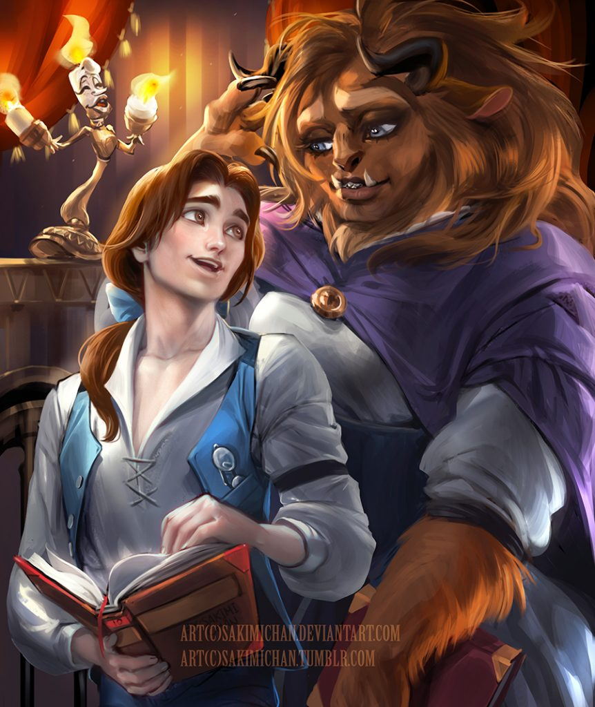 Beaty and The Beast | Incredible Gender Bender Transformations Of Your Favourite Characters | Zestradar