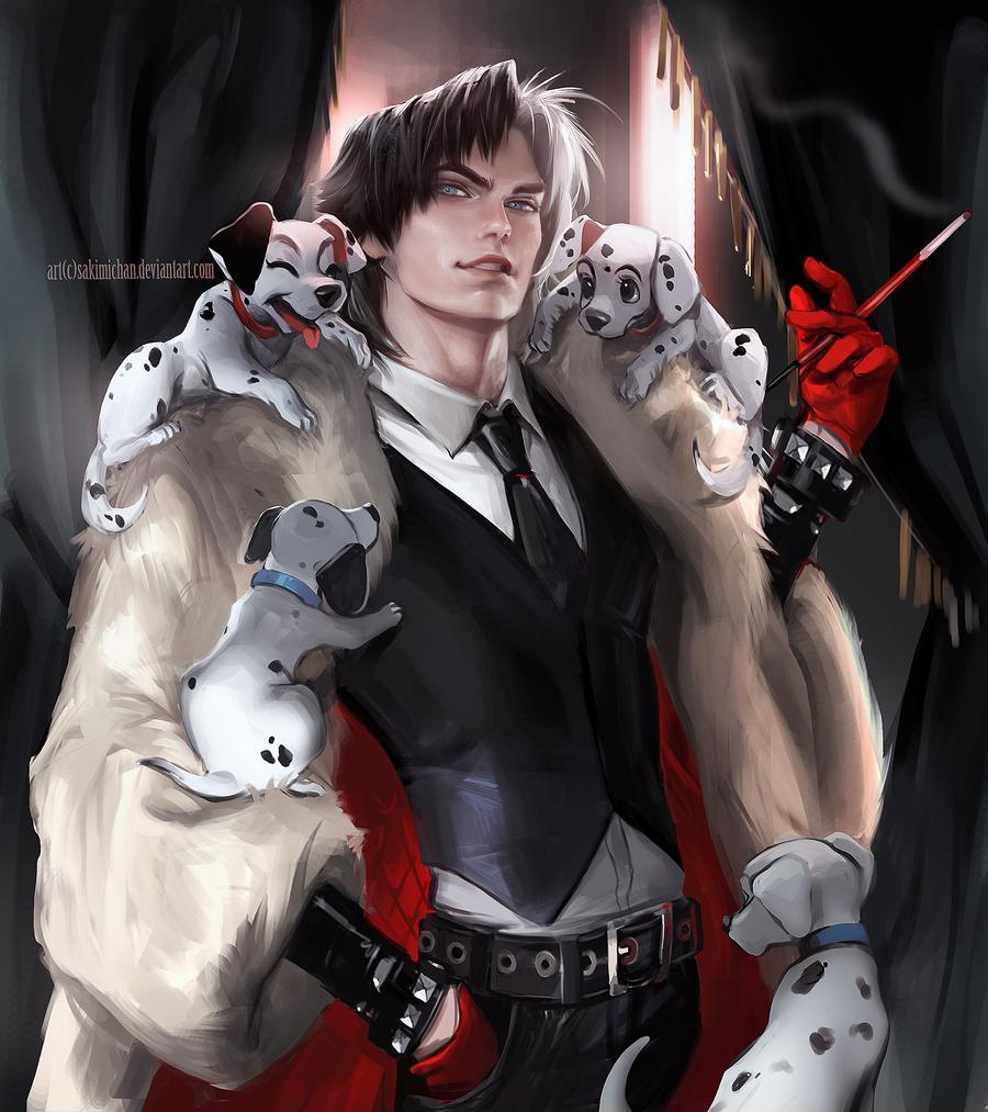 Cruella De Vil | Incredible Gender Bender Transformations Of Your Favourite Characters | Zestradar