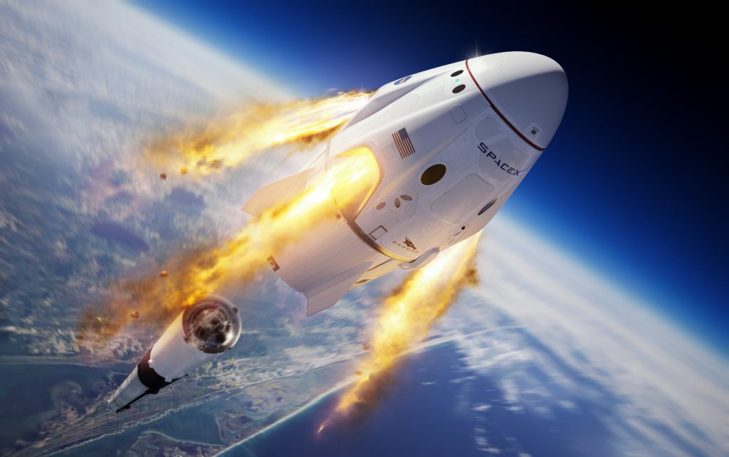 5 Interesting Facts About SpaceX's First Manned Launch #2 | Brain Berries