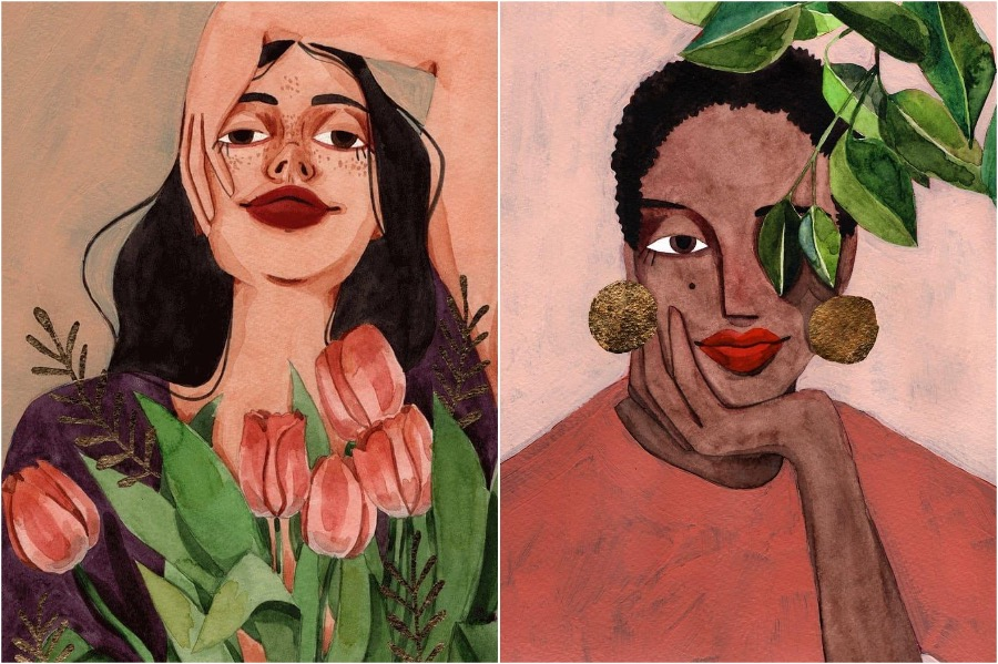 #1 | Portraits of Women By This Artist Will Inspire and Empower You | Zestradar
