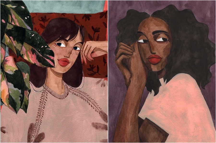 #2 | Portraits of Women By This Artist Will Inspire and Empower You | Zestradar