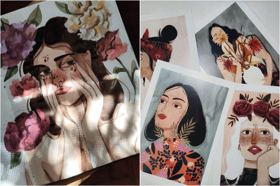 #3 | Portraits of Women By This Artist Will Inspire and Empower You | Zestradar