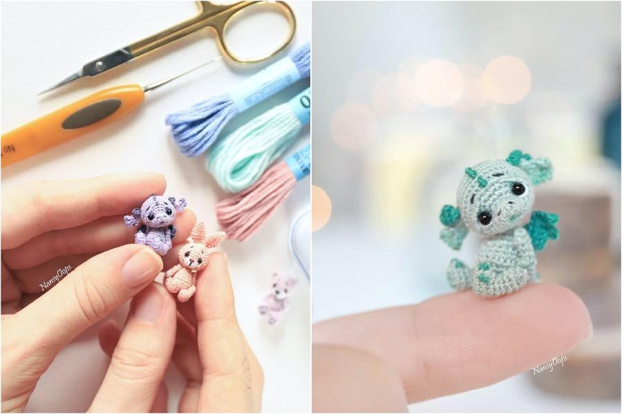 #3 | Russian Artist Creates Adorable Tiny Amigurumi Stuffed Creatures | Zestradar