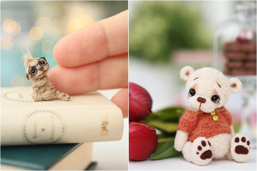 #5 | Russian Artist Creates Adorable Tiny Amigurumi Stuffed Creatures | Zestradar