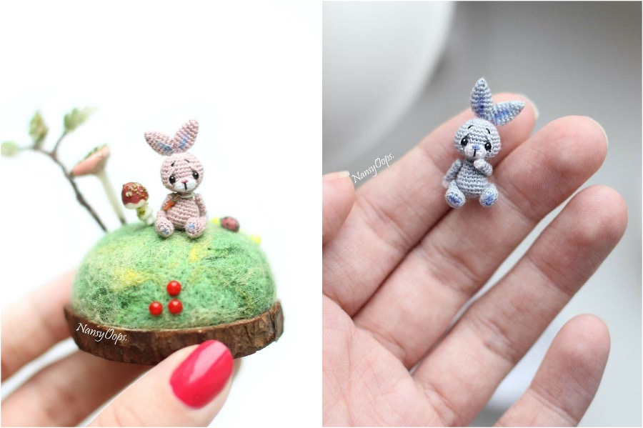 #6 | Russian Artist Creates Adorable Tiny Amigurumi Stuffed Creatures | Zestradar