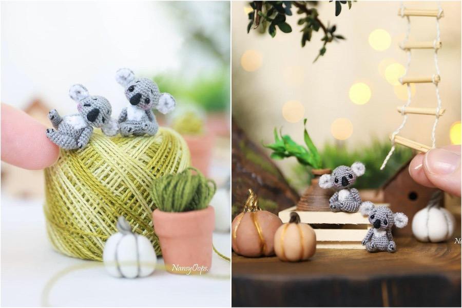 #7 | Russian Artist Creates Adorable Tiny Amigurumi Stuffed Creatures | Zestradar