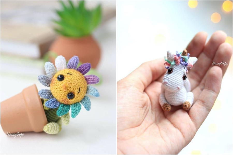 #8 | Russian Artist Creates Adorable Tiny Amigurumi Stuffed Creatures | Zestradar