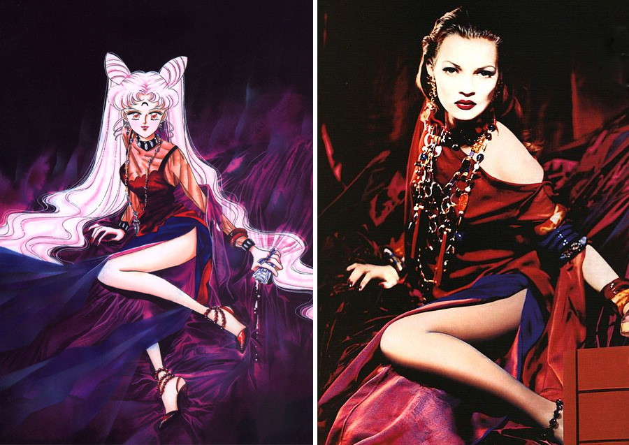 Wicked Lady – YSL's OPIUM | Sailor Moon Costumes Reveal Mind-Blowing 90s Fashion References | Zestradar