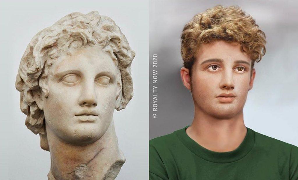 Македонский, Клеопатра и Наполеон: как бы выглядели известные исторические личности, родись они сейчас #3 | Brain Berries