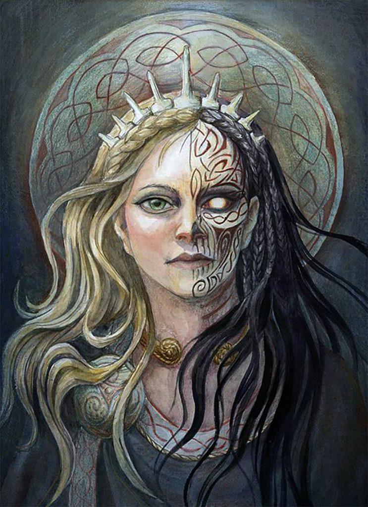 Хель (Скандинавия) | 6 cамых жестоких богинь Древнего Мира | Zestradar
