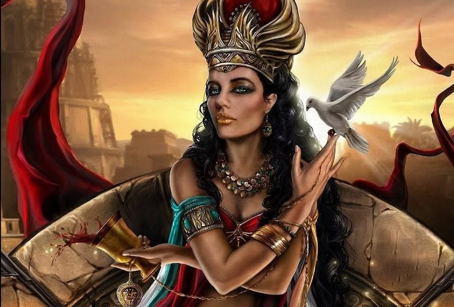 Иштар (Вавилон)   6 cамых жестоких богинь Древнего Мира   Zestradar