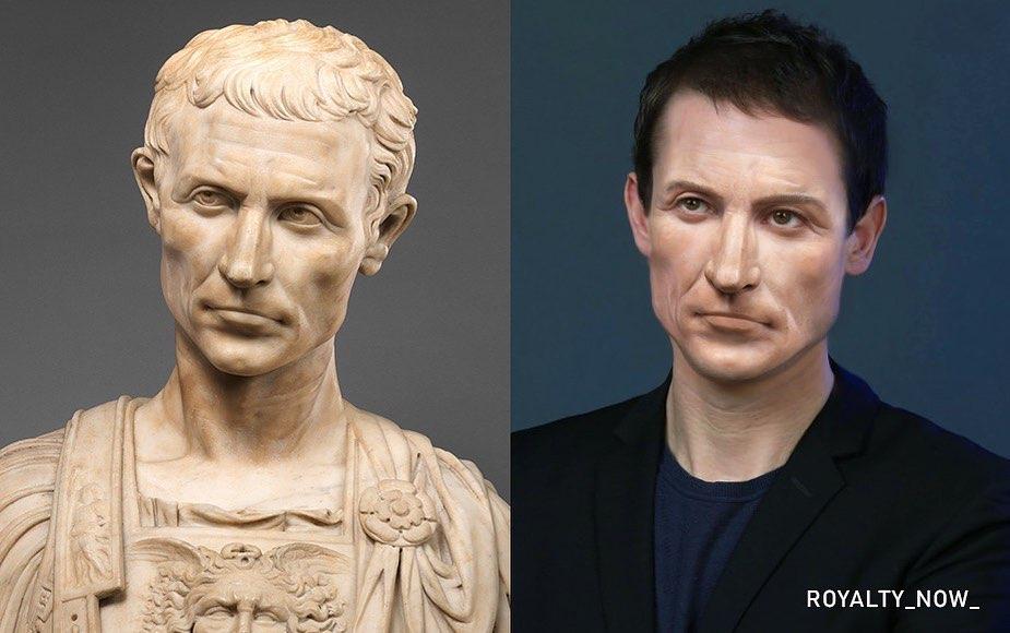 Македонский, Клеопатра и Наполеон: как бы выглядели известные исторические личности, родись они сейчас #5 | Brain Berries