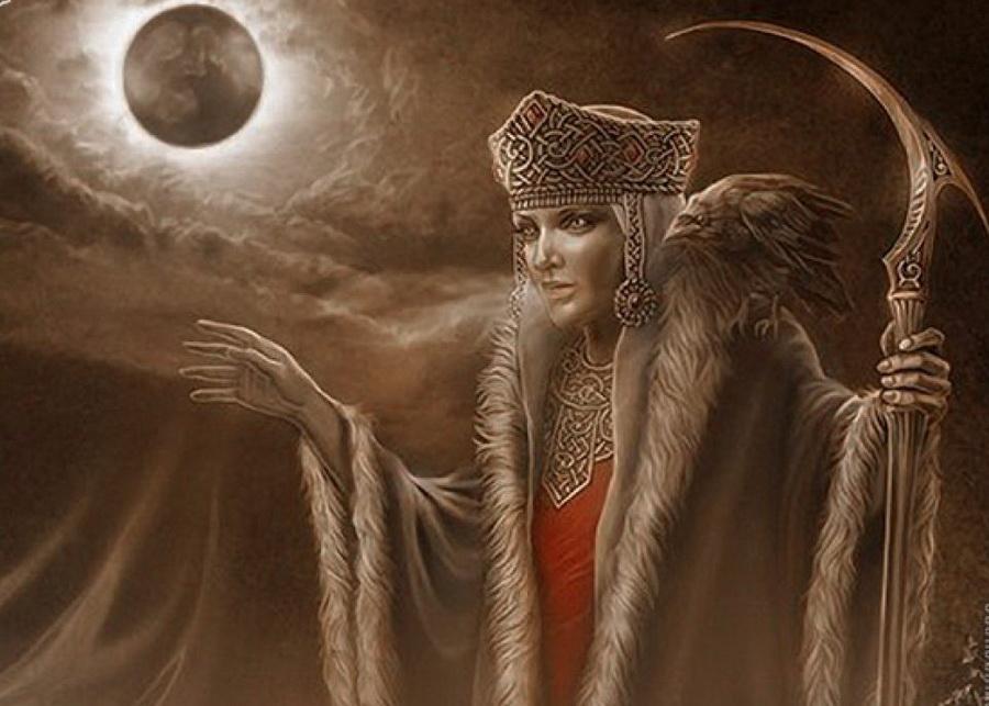 Морана (Россия,Польша,Украина) | 6 cамых жестоких богинь Древнего Мира | Zestradar