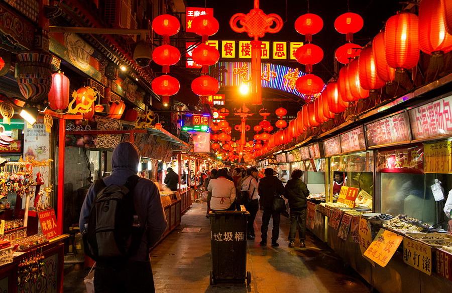 Рынок Донхуамень, Пекин | Топ-10 самых больших ночных рынков в мире | Zestradar